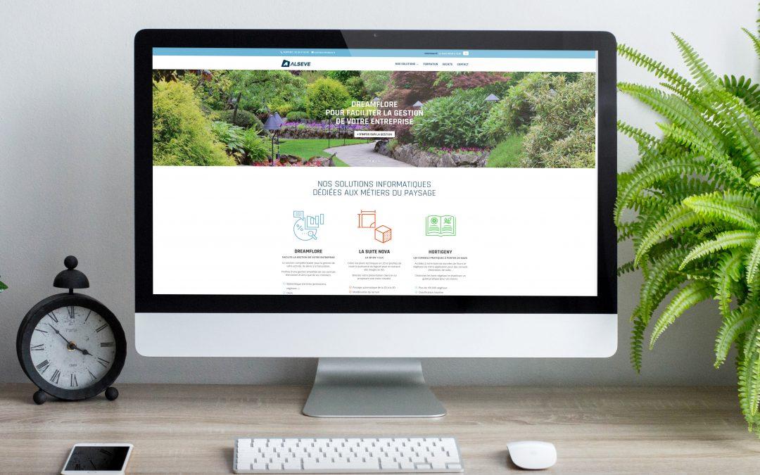 Nouveau site internet Alseve